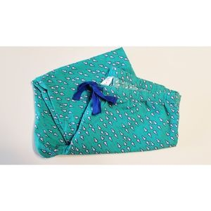 Vinyard Vines Lacrosse Print Pajama Pants Sz M